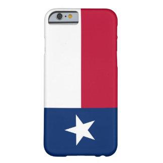 fodral för iPhone 6 med flagga av Texas Barely There iPhone 6 Skal