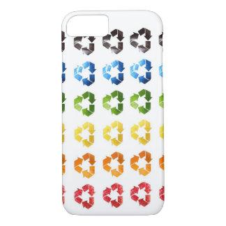 Fodral för iPhone 7 för återvinnafruktdesign