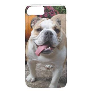Fodral för iPhone 7 för den engelska bulldoggen
