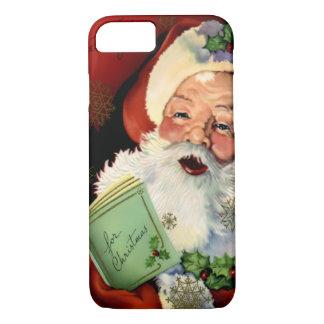 Fodral för iPhone 7 för jultomten knappt där