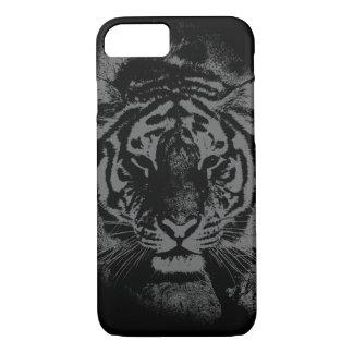 Fodral för iPhone 7 för kall tiger mörkt