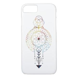 Fodral för iPhone 7 för sakral geometri designat