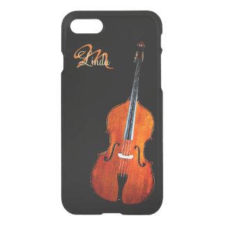 Fodral för iPhone 7 för violoncellspelareMonogram