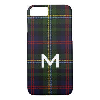 Fodral för iPhone 8 för Malcolm Monogrammed
