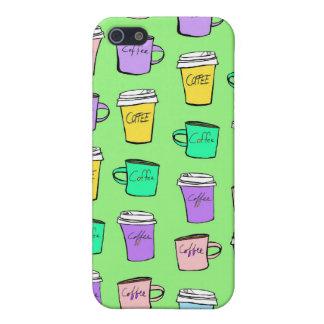 fodral för kaffekaffekaffe iPhone 5 cases