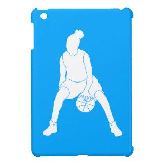 Fodral för kortkort för iPad för blåttbasketflicka iPad Mini Skydd