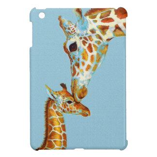 fodral för kortkort för mor- och bebisgiraffipad iPad mini skydd