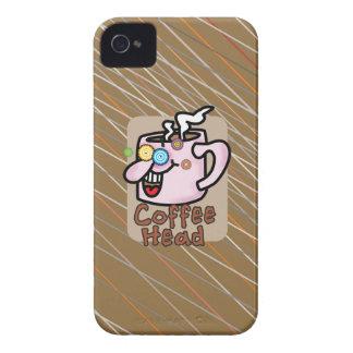 Fodral för legitimation för iPhone 4/4S för kaffe iPhone 4 Cases