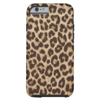 Fodral för LeopardtryckFodral-Kompis tufft iPhone Tough iPhone 6 Fodral