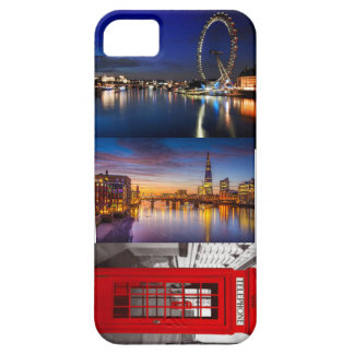 fodral för london collageiphone 5/5s iPhone 5 Case-Mate skydd