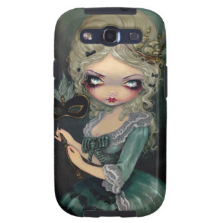 "Fodral ""för Marie maskerad"" galax S Galaxy SIII Cover"