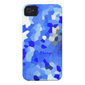 Fodral för Mary blåttiPhone 4 iPhone 4 Hud