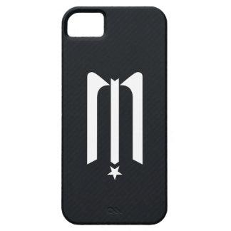 Fodral för midnatt stjärnalogotyp- & randiPhone Barely There iPhone 5 Fodral