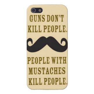 Fodral för mustaschdödafolk iphone 5 iPhone 5 hud