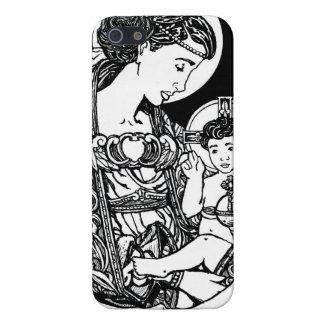 Fodral för oskuld- och barniPhone 5 iPhone 5 Skydd