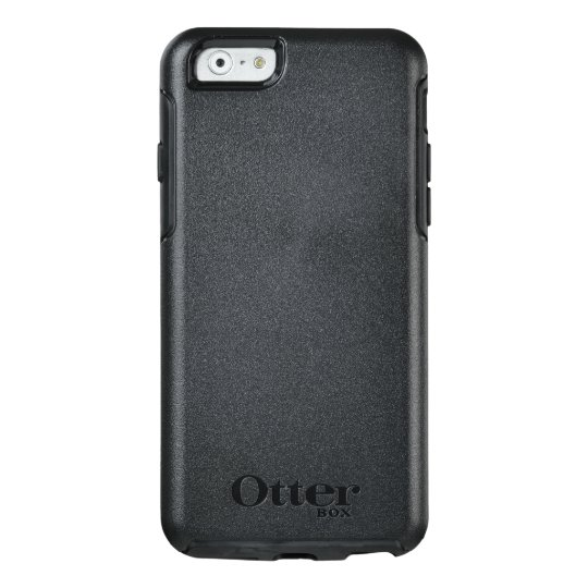 Custom OtterBox Apple iPhone 6/6s Symmetry Serier Case, Svart