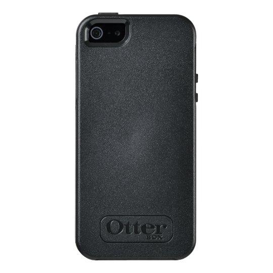 Custom OtterBox Apple iPhone SE/5/5s Symmetry Serier Case, Svart