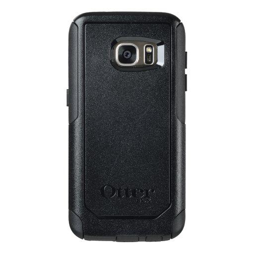 Custom OtterBox Samsung Galaxy S7 Commuter Serier Case, Svart