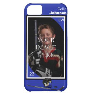 Fodral för personlighockeyiPhone 5 iPhone 5C Mobil Skal