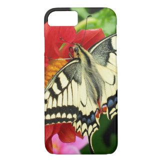 Fodral för plus för fjärils- & blommaiPhone 7