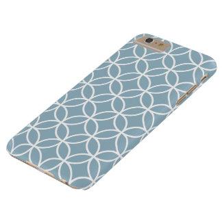 Fodral för plus för iPhone 6 för Aquamarineblått Barely There iPhone 6 Plus Fodral