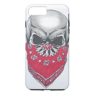 Fodral för plus för iPhone 7 för Banadana skalle