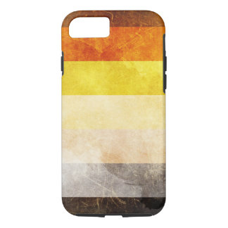 Fodral för plus för iPhone 7 för björnprideflagga