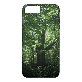 Fodral för plus för iPhone 7 för träd tufft
