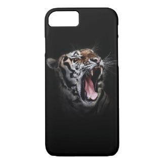 Fodral för plus för iPhone 7 för zebra tryck