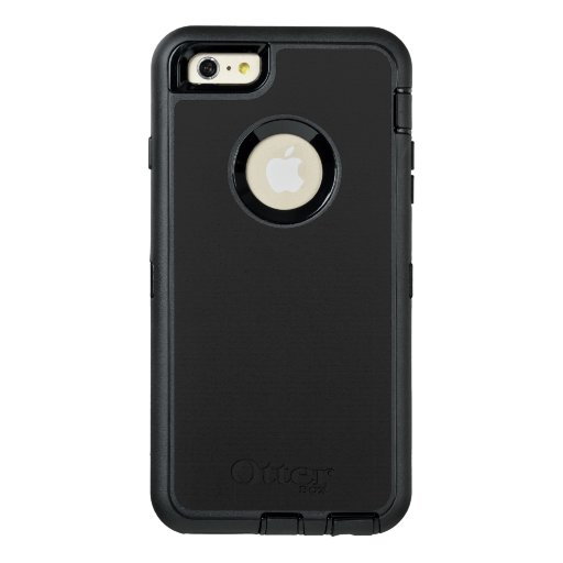 Custom OtterBox Apple iPhone 6 Plus Defender Serier Case, Svart