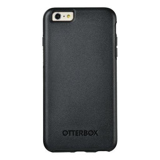 Custom OtterBox Apple iPhone 6 Plus Symmetry Serier Case, Svart