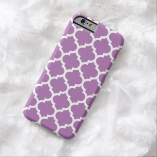 Fodral för Quatrefoil iPhone 6 i strålpunktOrchid Barely There iPhone 6 Skal