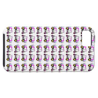 Fodral för Rickshawtrycktelefon iPhone 5 Case-Mate Fodraler