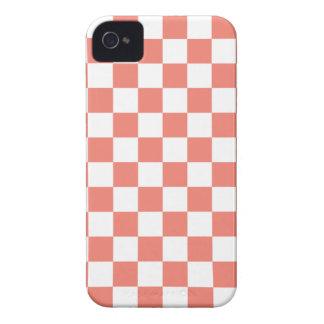 Fodral för schackbrädeiPhone 4/4s i korall iPhone 4 Case-Mate Skal