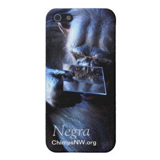 Fodral för schimpansNegra iPhone 5/5S iPhone 5 Skydd