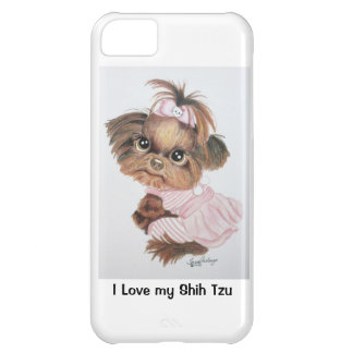 Fodral för Shih Tzu iPhone 5 iPhone 5C Fodral