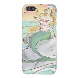 Fodral för sjöjungfruiPhone 4 iPhone 5 Hud