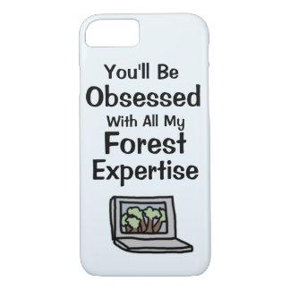 Fodral för skogsakkunskaptelefon