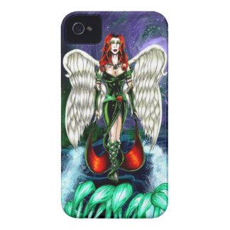 """Fodral för smaragdängeliPhone 4 vid """"knappt där """", iPhone 4 Case-Mate Skydd"""