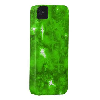 Fodral för smaragdglitteriphone 4 knappt iPhone 4 Case-Mate skal