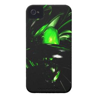 Fodral för smaragdNigthmares abstrakt blackberry iPhone 4 Case