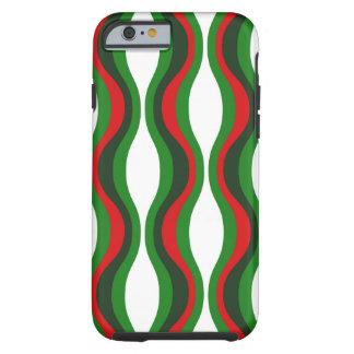 Fodral för snäcka för julmönsteriPhone 6 Tough iPhone 6 Skal