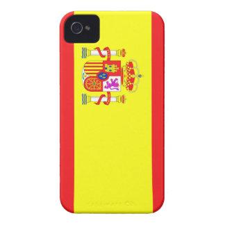 Fodral för Spanien flaggaiPhone 4 Case-Mate iPhone 4 Skydd