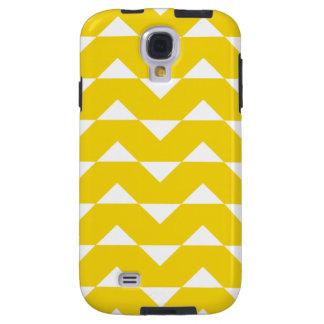 Fodral för sparregalax S4 - citron - gult mönster Galaxy S4 Fodral