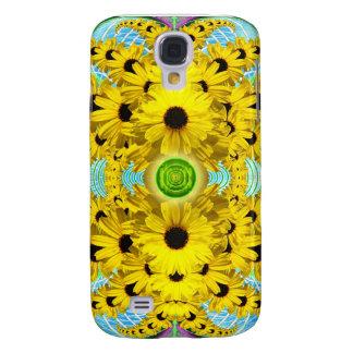 Fodral för Speck för daisyMandalaiPhone 3 Galaxy S4 Fodral
