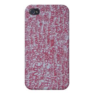 Fodral för Speck för iPhone 4 för grafitti vägg- iPhone 4 Cover
