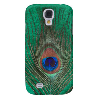 Fodral för Speck för påfågelfjäderiPhone 3 Galaxy S4 Fodral