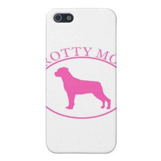 Fodral för Speck för Rottweiler Rotty mammaiPhone iPhone 5 Fodraler