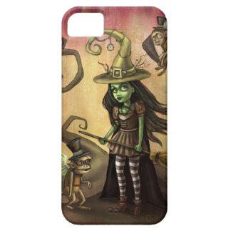 Fodral för Steampunk ont häxa iphone5 iPhone 5 Cover