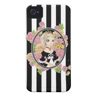 Fodral för svanPrincess blackberry bold (svarten) Case-Mate iPhone 4 Case